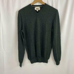 Vintage Joseph Abboud Mens Wool V-neck Sweater M